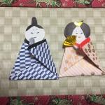 つるし雛折り紙の作り方◇簡単なお雛様の折り方や糸の通し方など