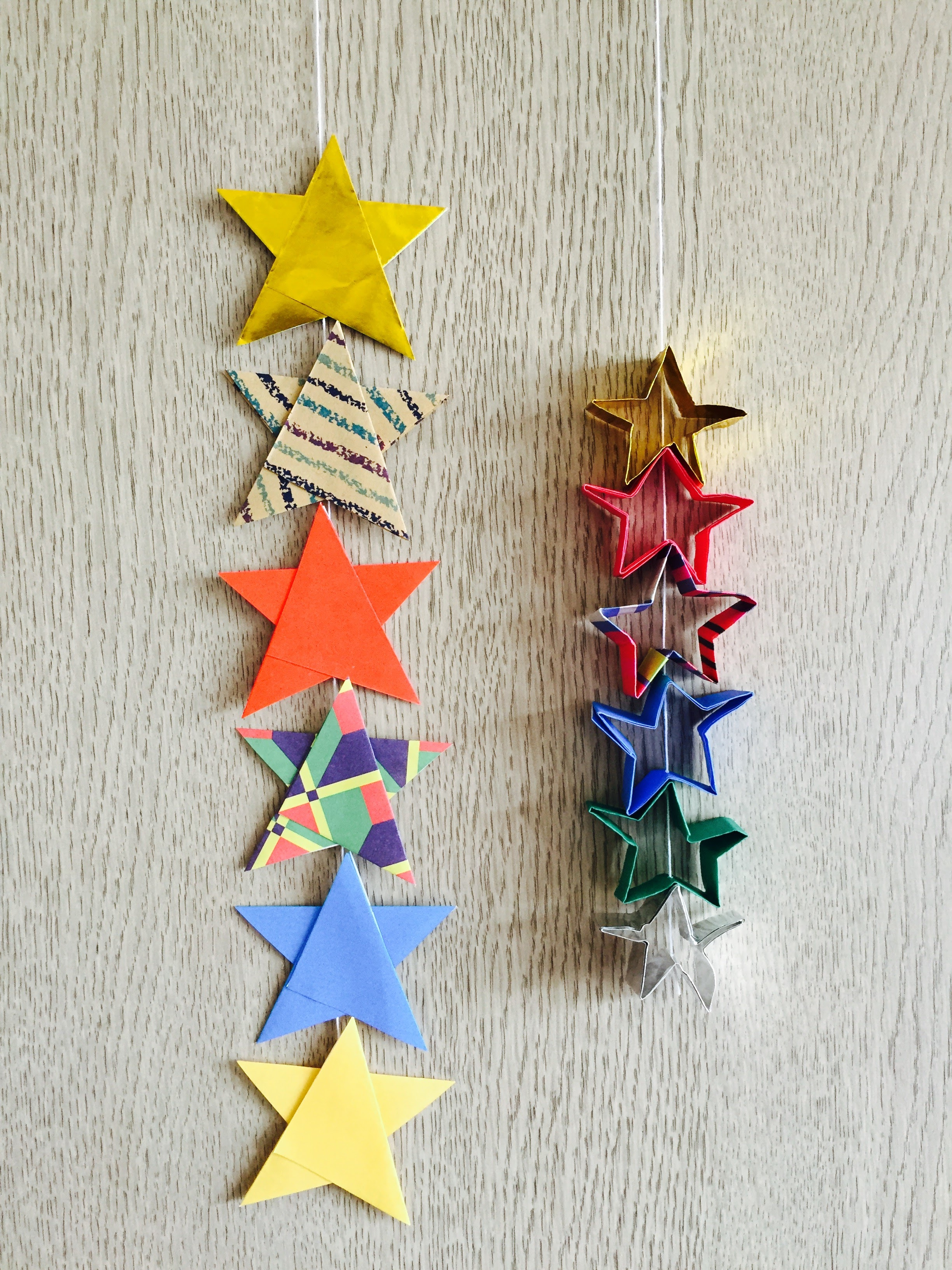手紙 の 折り 方 星