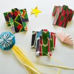 折り紙の着物の簡単な折り方 七夕飾りの紙衣に