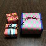 生チョコの箱を折り紙や画用紙で手作り♪友チョコラッピングに安く作れる!