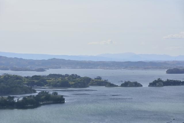大高森展望台から見る松島湾