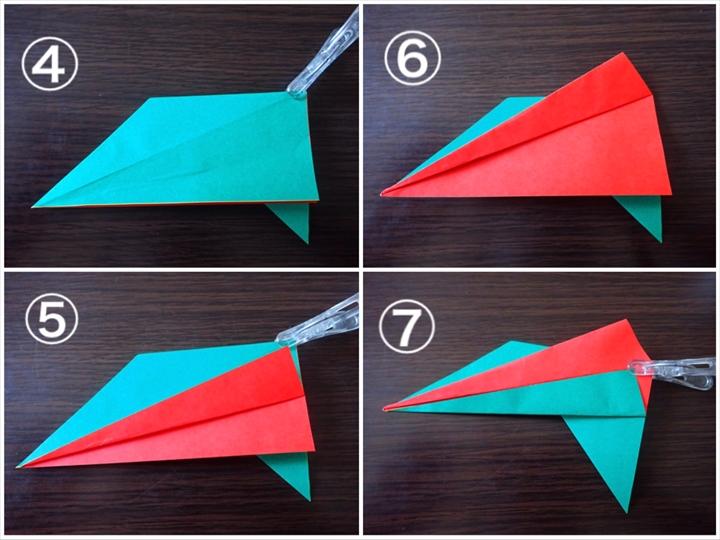 クリスマス 折り紙 リース簡単